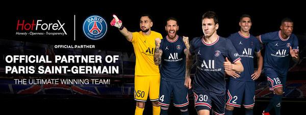 Welcoming Messi, Ramos, Hakimi, Wijnaldum & Donnarumma! Official Partner of Paris Saint-Germain!