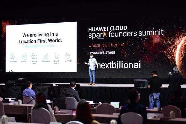 HUAWEI CLOUD Spark Founders Summit in Singapore