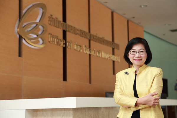 """""""Thailand Board of Investment (BOI) Secretary General Ms. Duangjai Asawachintachit announced that during January-June 2021, Thailand's investment applications rose 158% from last year in terms of combined value, as foreign direct investment (FDI) quadrupled."""""""