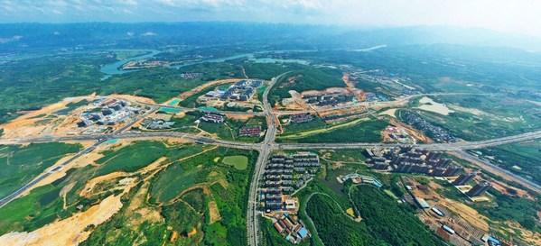 Bird View of Guangxi Baise Key Development and Opening Pilot Zone