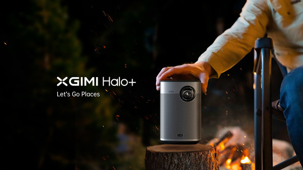 Halo+ now offers smarter setup functionality using XGIMI's own suite of Ai-powered image correction & stabilization technology, a more powerful and brighter LED (900 ANSI lumens), enhanced custom Harman Kardon speakers and a longer battery life.