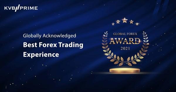 KVB PRIME Takes Home Best Forex Trading Experience Award