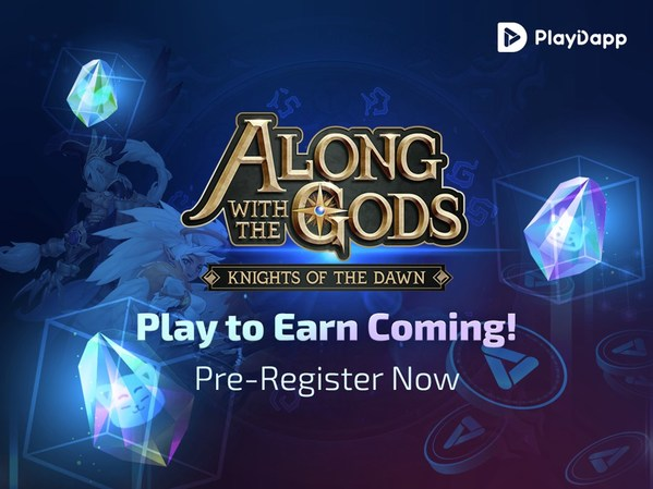 """Blockchain game """"Along with the Gods: Knights of Dawn"""" is launching P2E server"""