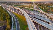 Aerial View on US Roads and Highways