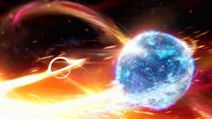 Black Hole Swallow Neutron Star