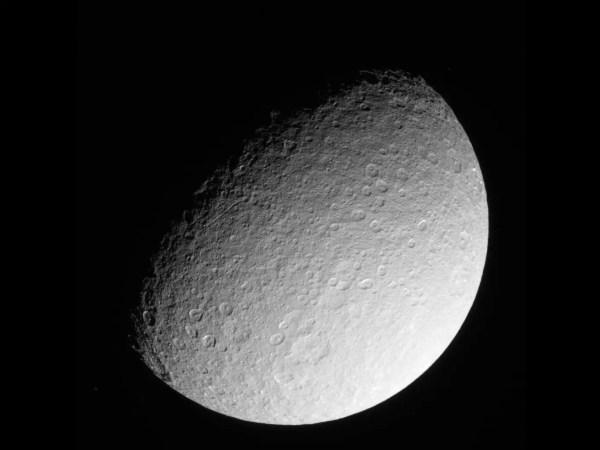 NASA Cassini Saturn Moon