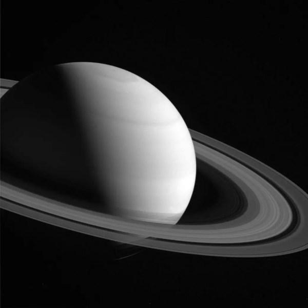 New Photos of Saturn Cassini