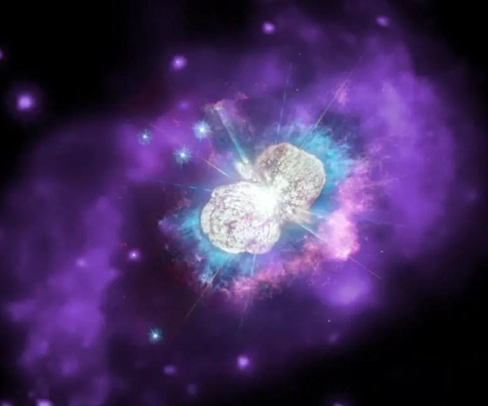 Chandra Eta Carinae: NASA: Stunning footage of galaxies, stars, supernova remnants
