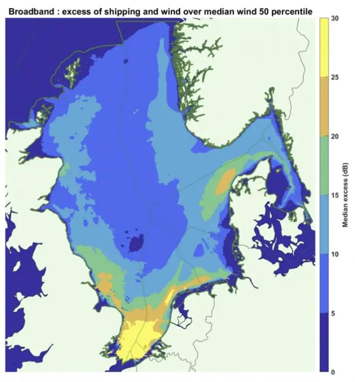 Example Measured Ocean Soundscape