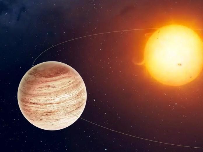 Giant Exoplanet Orbit