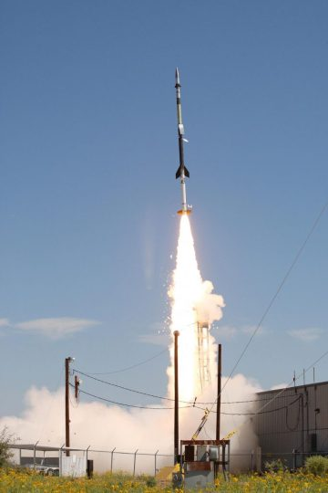 Herschel Sounding Rocket Launch