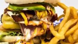 High Fat Burger Meal