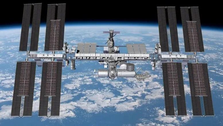 ISS iROSA Solar Arrays