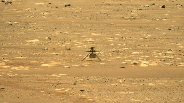 Ingenuity Mars Helicopter Sol 55