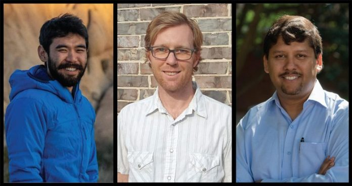James Eguchi, Johnny Seales and Rajdeep Dasgupta, Geoscientists