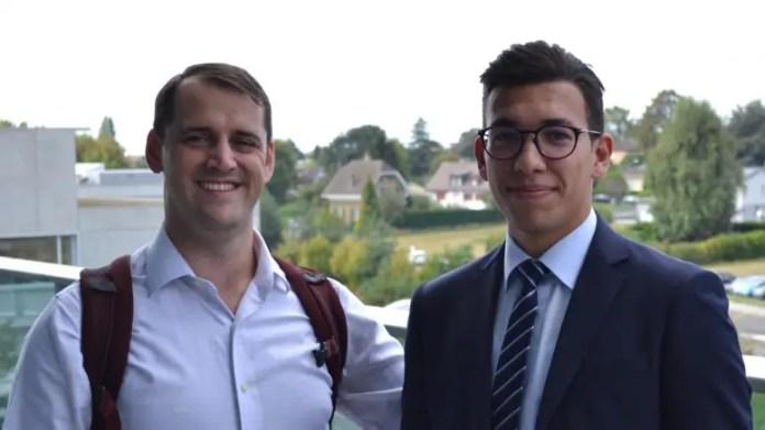 John Kolinski and Wassim Dhaouadi
