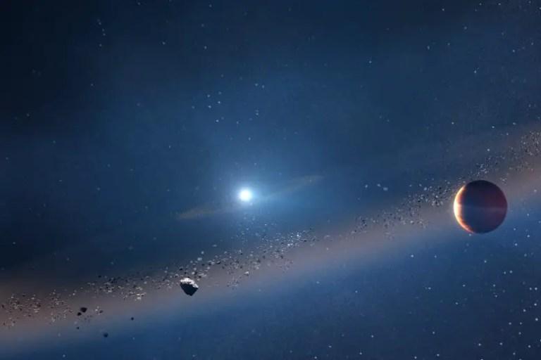 Jupiter-Like Exoplanet Orbiting a White Dwarf