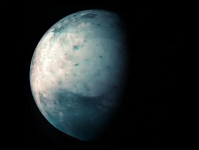 Jupiter's Icy Moon Ganymede Infrared