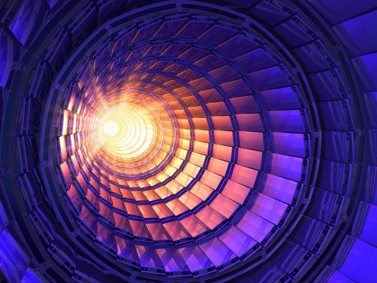 Laser Optics Particle Accelerator Concept