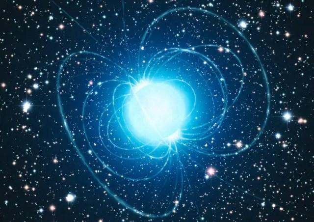 Magnetar Artist's Impression