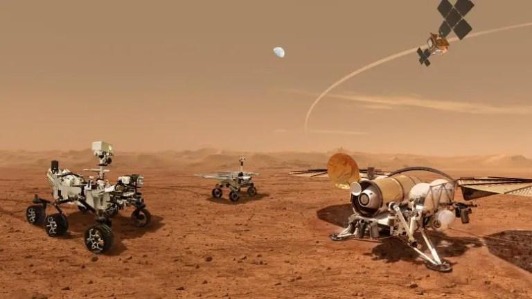 Mars Sample Return Campaign Artist's Concept