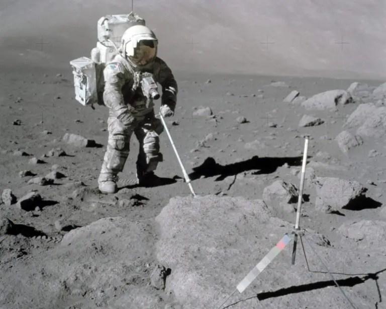 NASA Astronaut Harrison Schmitt Apollo 17