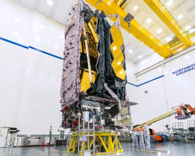 NASA's James Webb Space Telescope Assembled and Tested