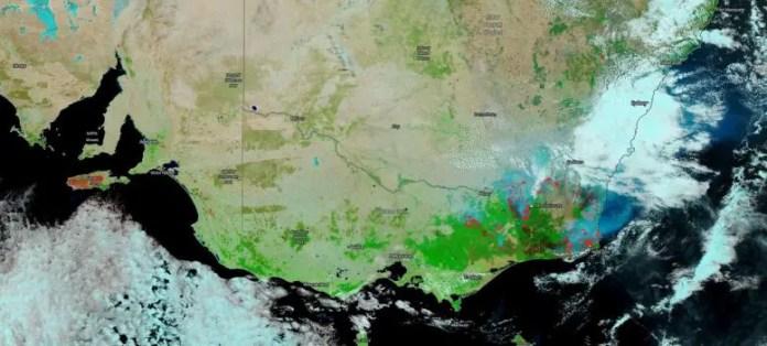 NOAA NASA Suomi NPP Satellite Australia Fires