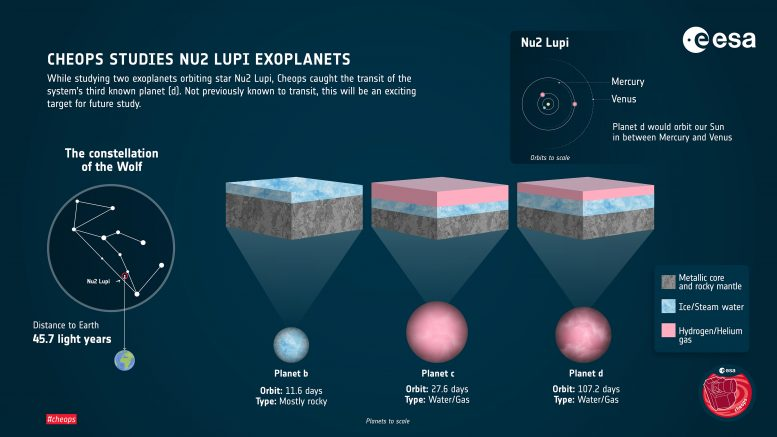 Nu2 Lupi Planetary System Infographic