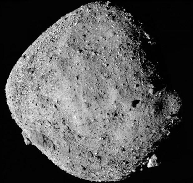 OSIRIS REX spacecraft releases water on asteroid Bennu