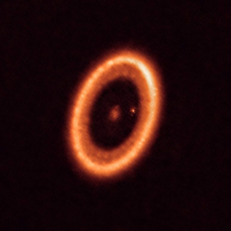PDS 70 System As Seen With ALMA