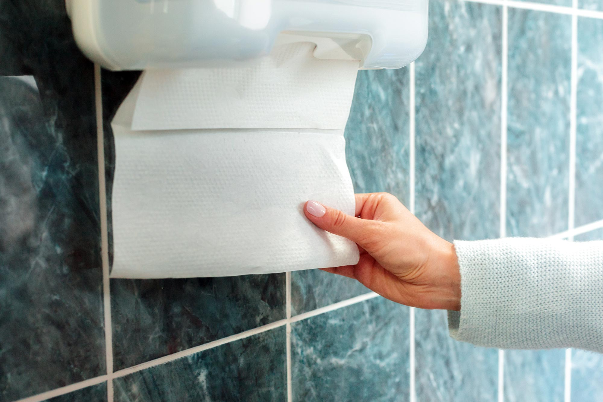 Paper Towels Much More Effective At Removing Viruses Than