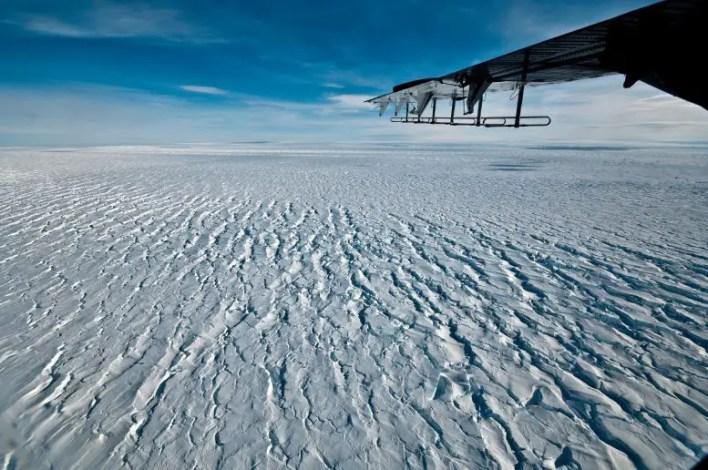 Çam Adası Buzulu Buz Rafı Amundsen Denizi