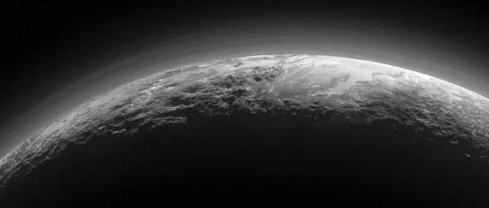 Pluto's Majestic Mountains