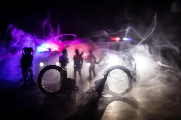 Police Raid Concept