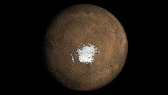 Possibility of recent subterranean volcanism on Mars