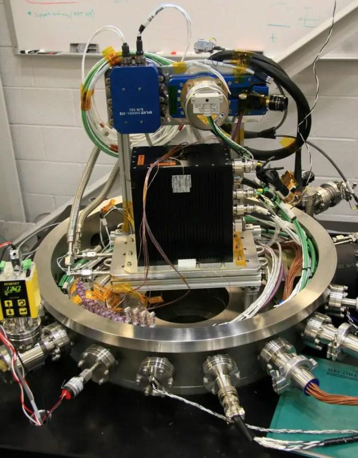SPLICE Hardware Vacuum Chamber Test