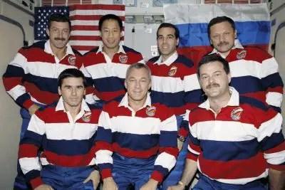STS-106 Crew