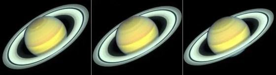 Saturn season transitions