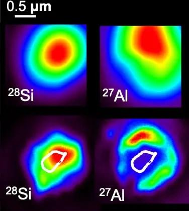 SiC Grain NanoSIMS Images
