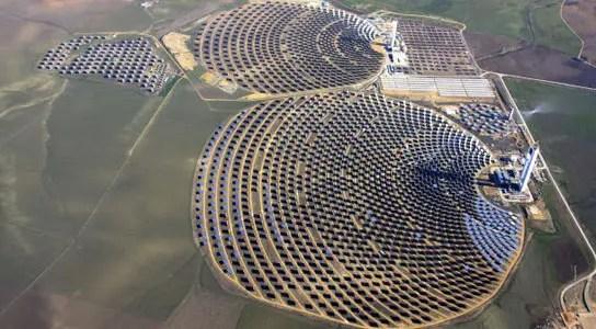 Solar Efficiency in CSP Plants PS10 & PS20