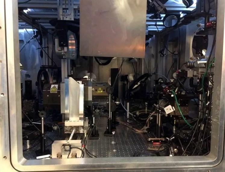 Turn Light Into Matter Target Chamber With Optics