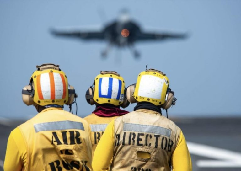 USS Ronald Reagan Flight Crew