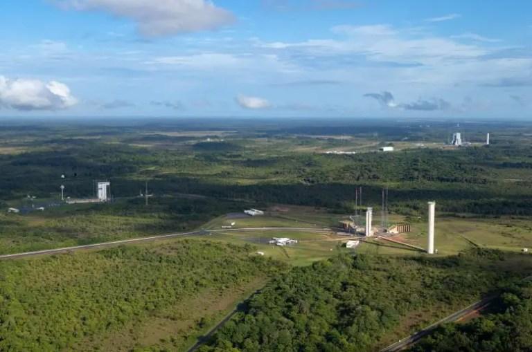 Vega Ariane 5 and Ariane 6 Launch Zones at Europe's Spaceport