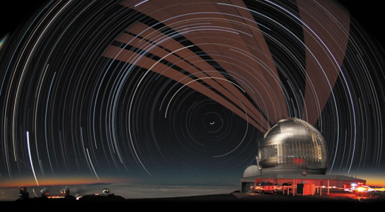 gemin-telescope-lasers-long-exposure