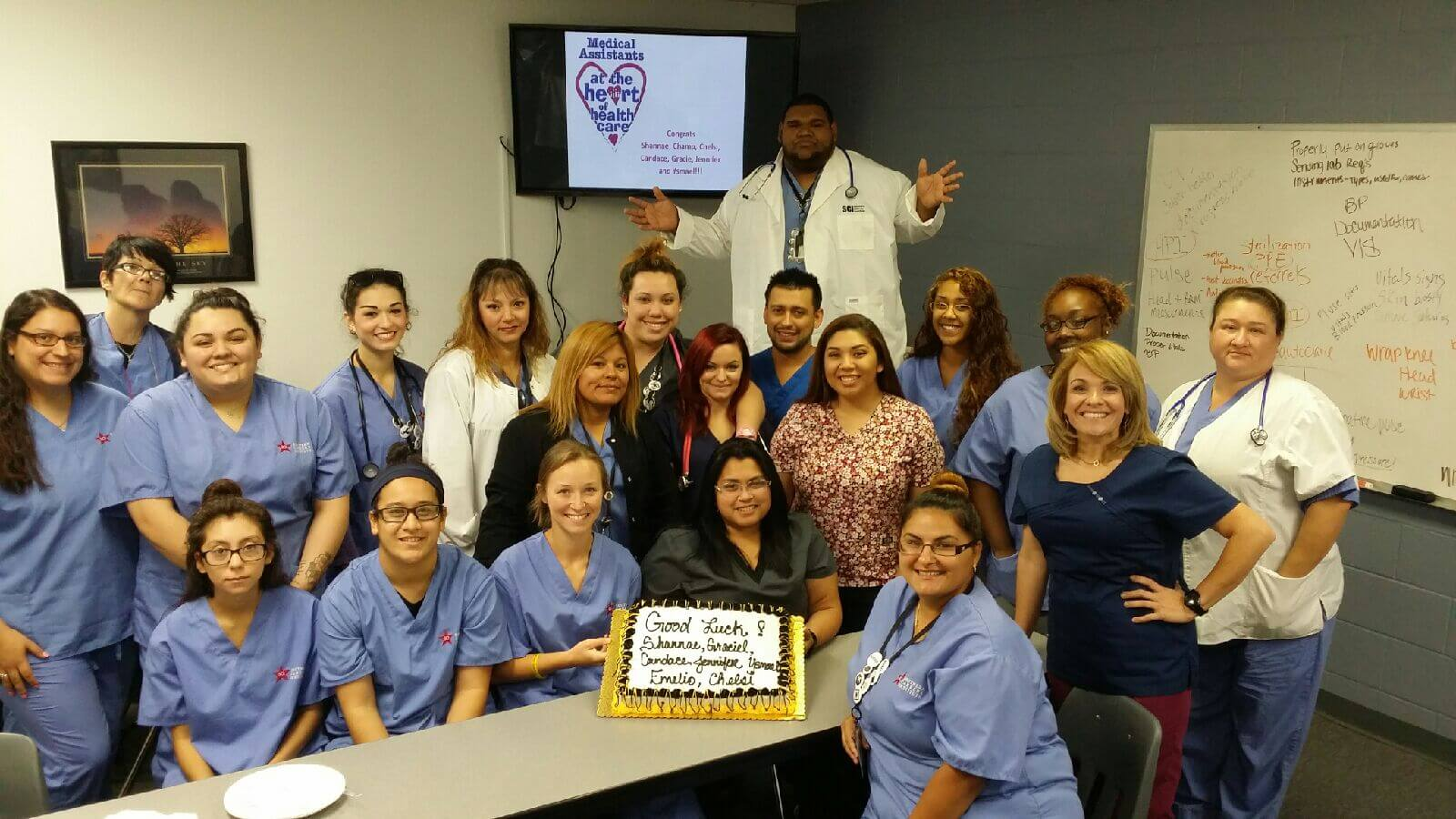 Doctors Need Heroes too Meet Medical Assistant Instructor Liliana Pettis