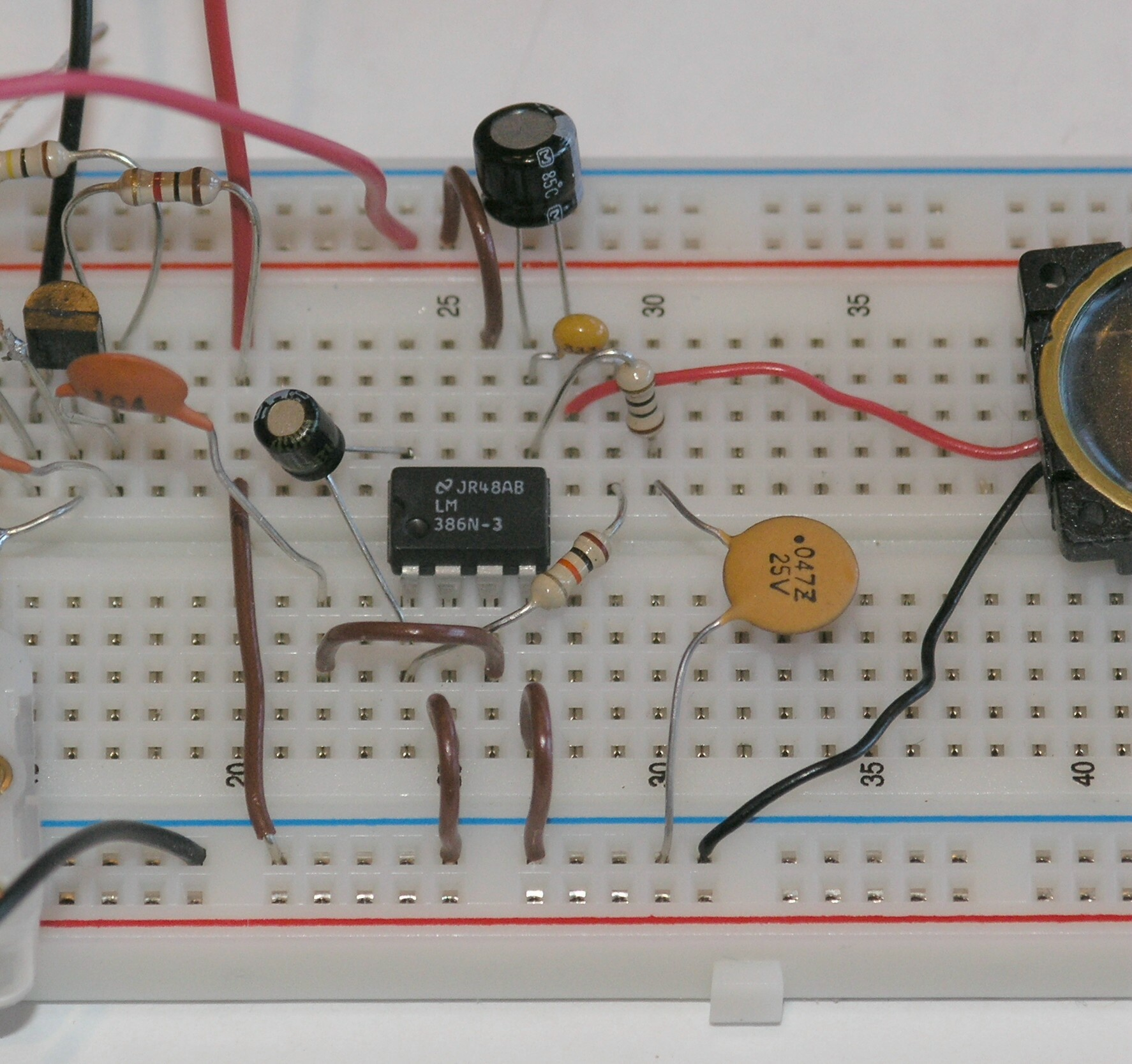 Booster Amplifier Circuit