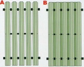 Металлический штакетник картинка