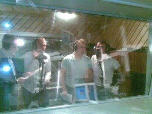 Vinderholdet lægger sjæl i. fra venstre: Jørgen Jonstrup, Jesper Schack, Tonni Johannsen og Lars Bo Marcussen.