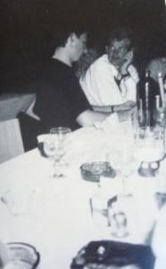 Michael Størtzer med en hemmelighedsfuld Christian Andersen.